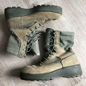 Wellco Vibram Air Force Military Combat Boot